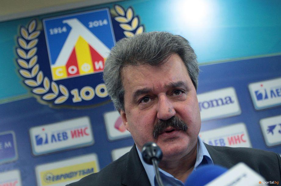 Батков начерта бъдещето на Левски