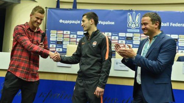 Побойниците Ярмоленко и Степаненко в състава на Украйна за Евро 2016