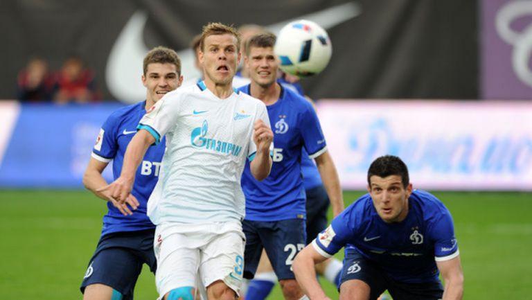 Динамо (Москва) изпадна за първи път в историята си, Спартак и Зенит помогнаха за това
