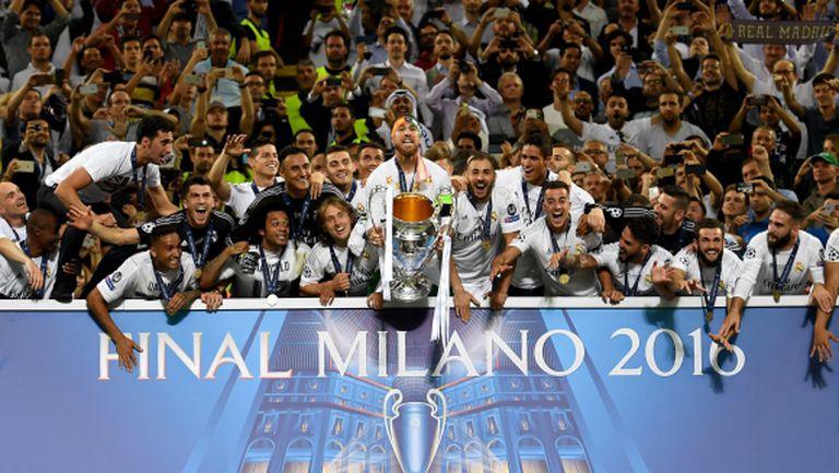 Мадрид вече еднолично е футболната столица на Европа