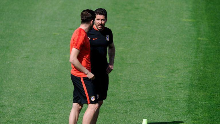 Саул: Атлетико ще гони и трите купи през следващия сезон
