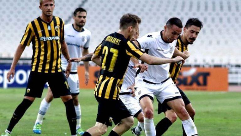 Реми в дербито с АЕК приближава ПАОК до Шампионската лига