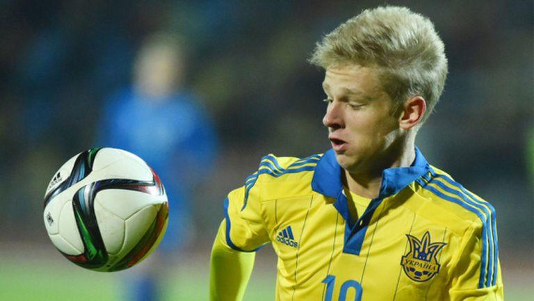Младок рекордьор в състава на Украйна за еврофиналите