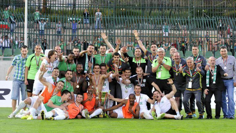 Посрещане за шампиони устроиха феновете на Берое в чест на среброто за Хубчев и компания