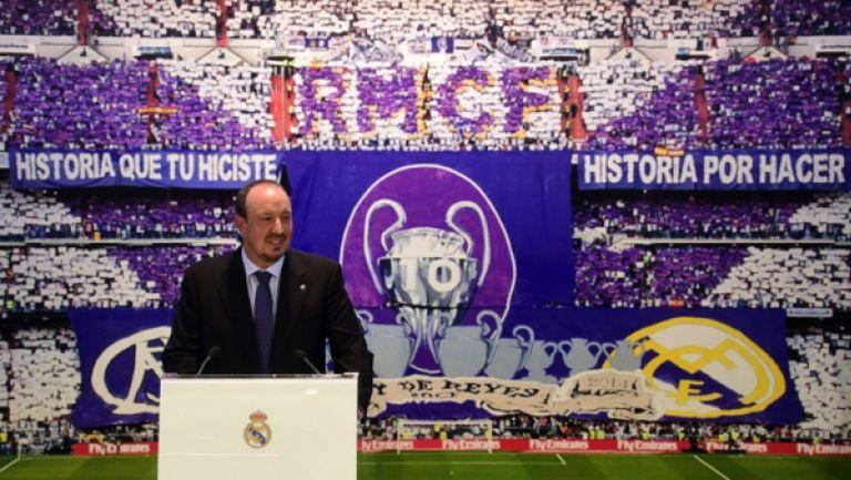 Рафа Бенитес е новият старши треньор на Реал Мадрид