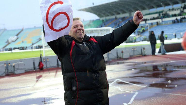 Стойчо: Радвам се, че влязох в историята на Левски с шестте победи
