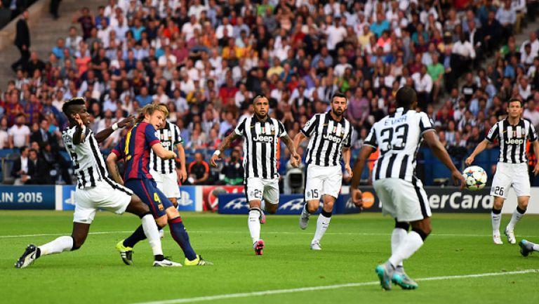 Ювентус - Барселона 1:3