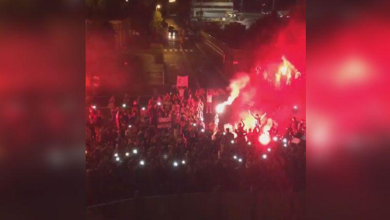 Шампионско посрещане за Ювентус