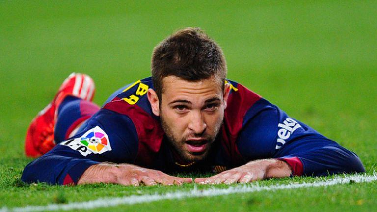 Жорди Алба остава в Барселона до 2020 година