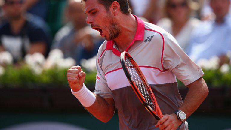 Федерер преклони глава пред блестящия Вавринка