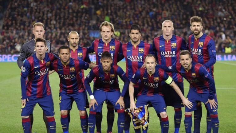 Барселона - знамето на Каталуня