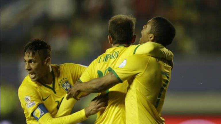 Бразилия - Перу 2:1