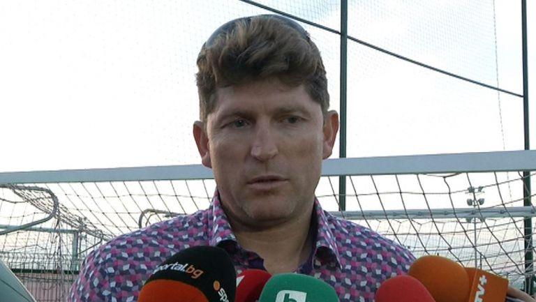 Стойчо Стоилов: Не мога да коментирам евентуално сливане между ЦСКА и Литекс