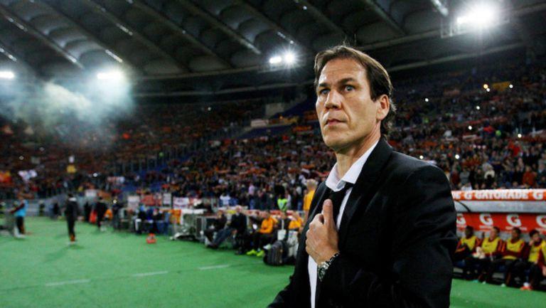 Босът на Рома: Руди Гарсия е нашият треньор