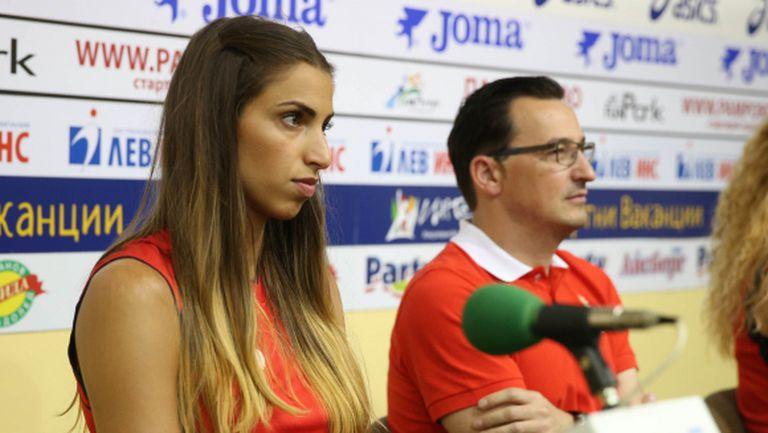 Елица Василева: Вярвам, че младите ще могат да влязат в състава (ВИДЕО)