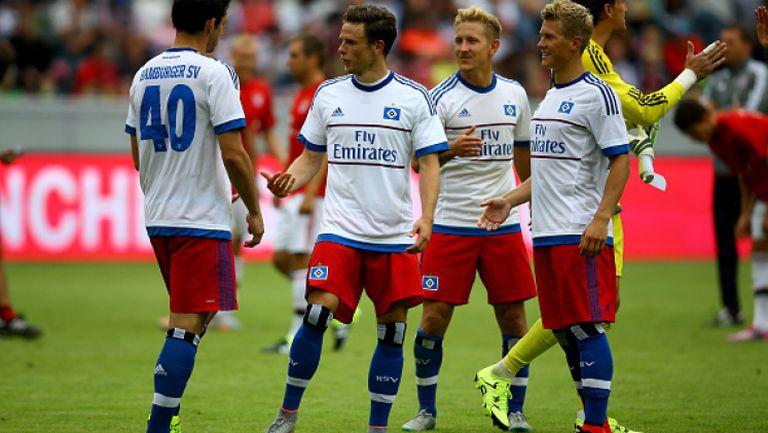 Борусия (Мьонхенгладбах) - Хамбургер 0:0 (4:5 след дузпи)