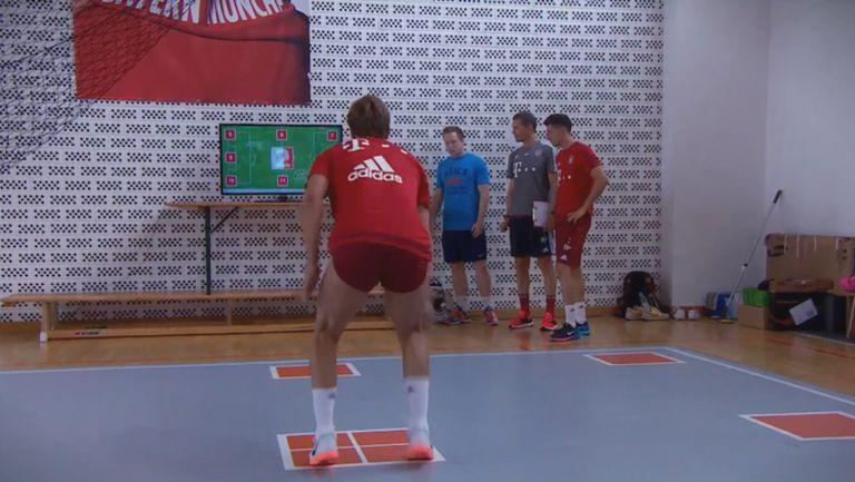 Фитнес тест с Дъглас Коща, Мануел Нойер и Марио Гьотце