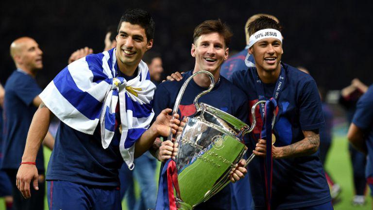 Меси е №1 в Шампионската лига