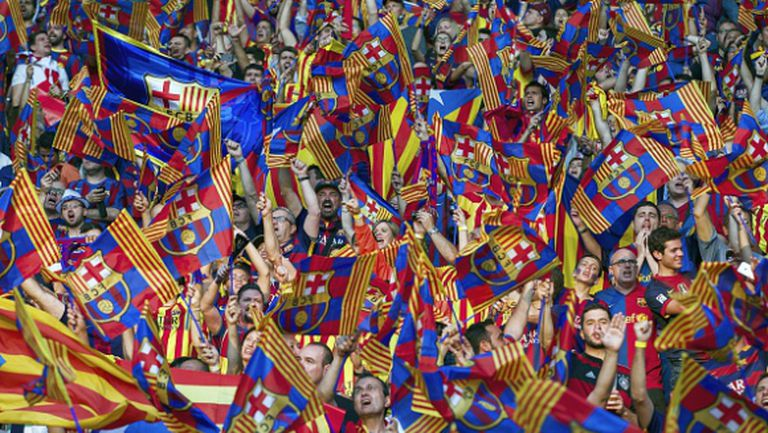 Светът на спорта засипа с поздрави каталунците
