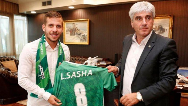 Ангел Червенков: Лудогорец направи удар с Лукас Саша