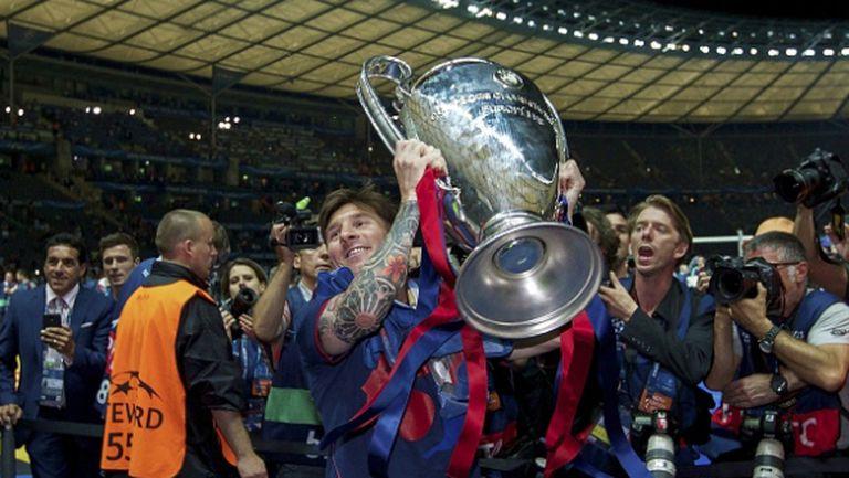Барса изравни Реал Мадрид по титли в Шампионската лига
