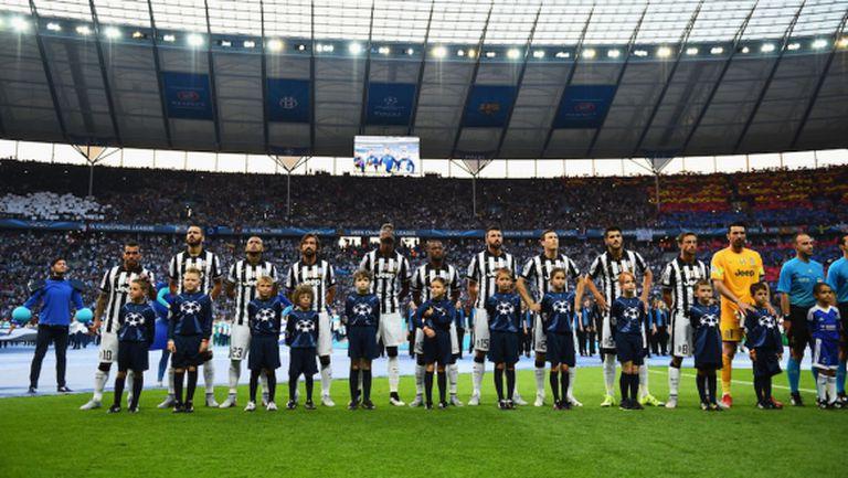 Медиите в Италия похвалиха Ювентус след финала с Барселона