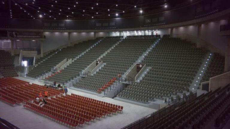 """""""Булстрад Арена"""" в Русе отблизо - най-модерната и функционална зала в България"""