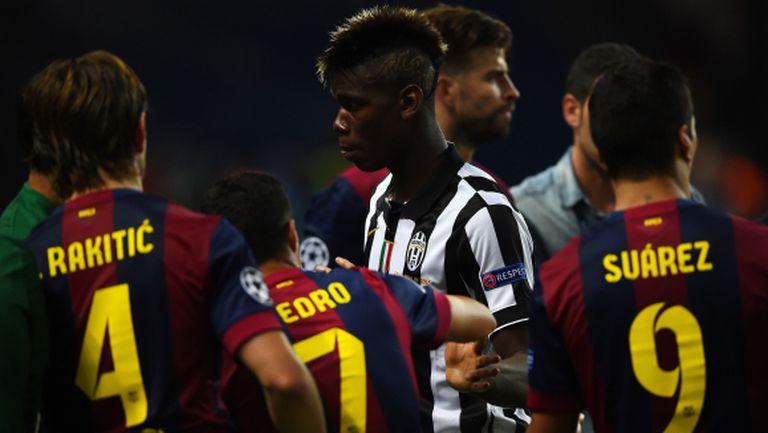 Погба е основна цел на Барселона