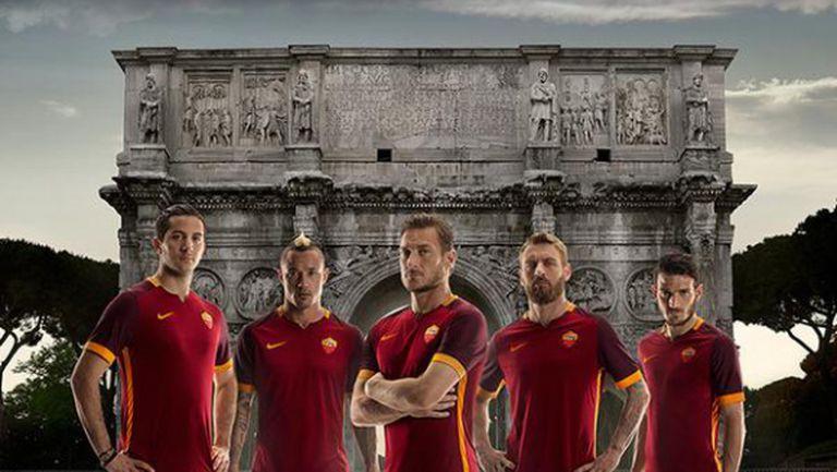 Рома представи официално новия си екип (видео)