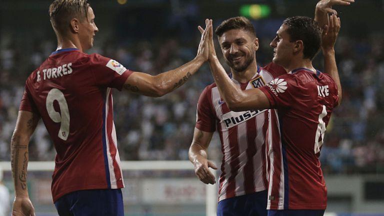 Саган - Атлетико Мадрид 1:1 (2:5 след дузпи)