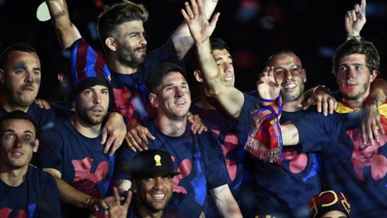Тотална доминация - 10 от Барса в идеалния отбор на Шампионската лига