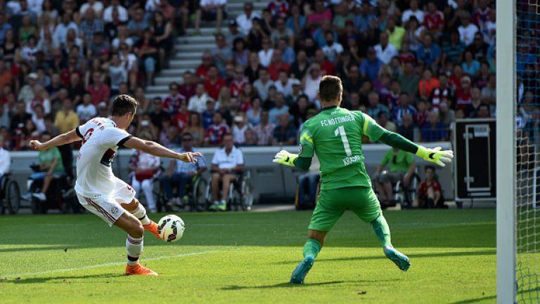 ФК Ньотинген - Байерн (Мюнхен) 1:3