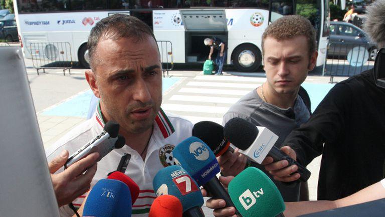 Ивайло Петев: Напрежение няма, отиваме в Малта за трите точки (ВИДЕО)