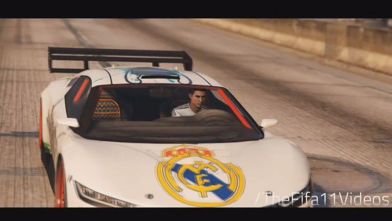 Смях! Вижте Кристиано Роналдо в GTA V