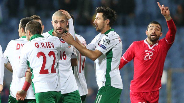 Двама от нападателите с голове само срещу Малта