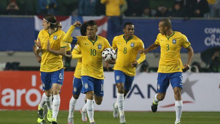 Неймар изведе Бразилия до драматичен успех на старта (видео)