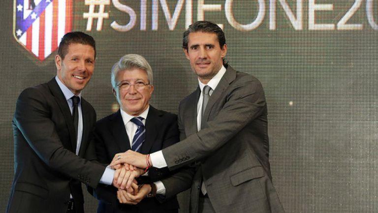 Сересо: Симеоне е номер 1, по-добър е от Моуриньо и Гуардиола