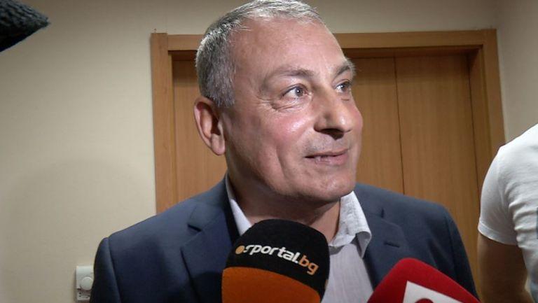 Мадански: Не съм си пожелавал ЦСКА за противник