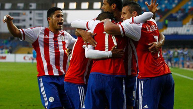 Комичен гол донесе първа победа на Парагвай (видео)