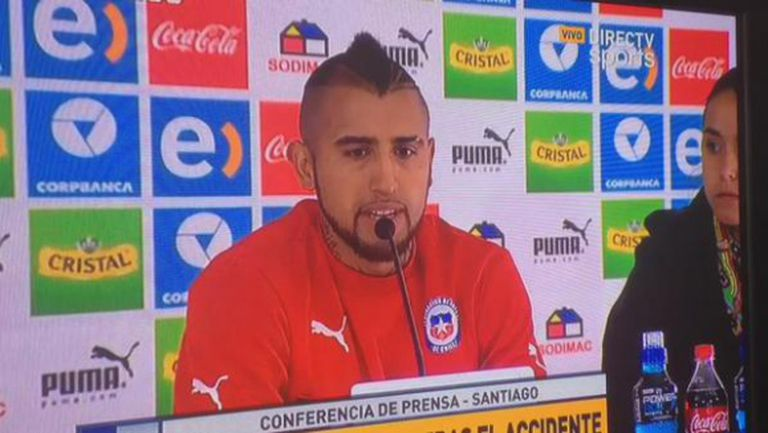 Видал се извини на Чили и се разплака