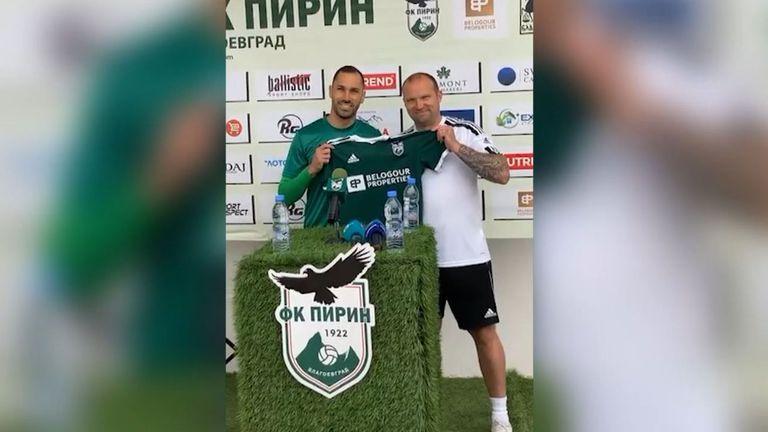 Пирин представи Петър Занев