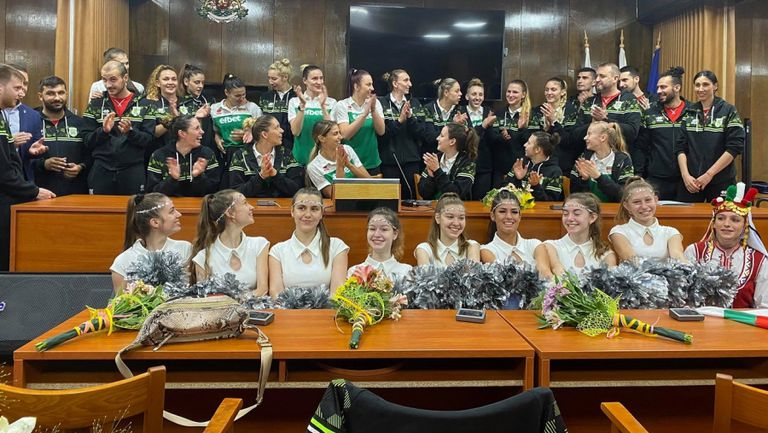 Купон в община Русе с националния отбор