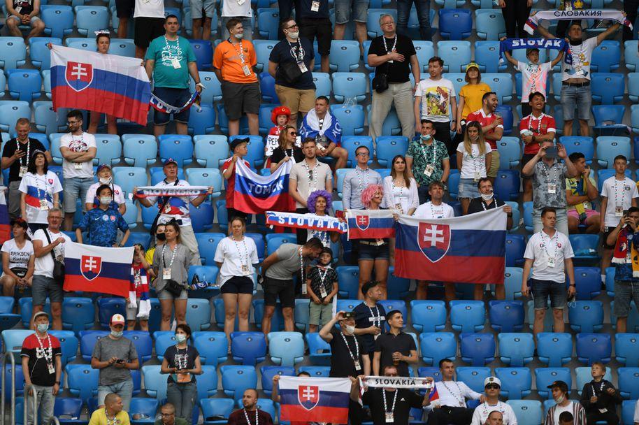 Феновете на Швеция - Словакия
