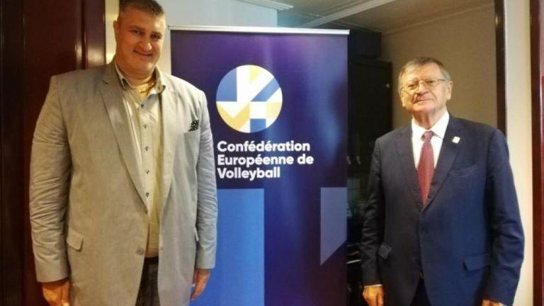 Шефът на CEV пристигна в Русе