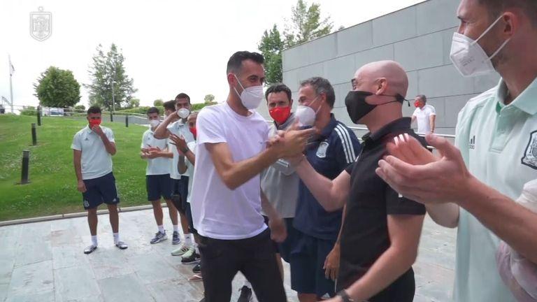 """Серхио Бускетс се присъедини към лагера на """"Ла Фурия"""""""