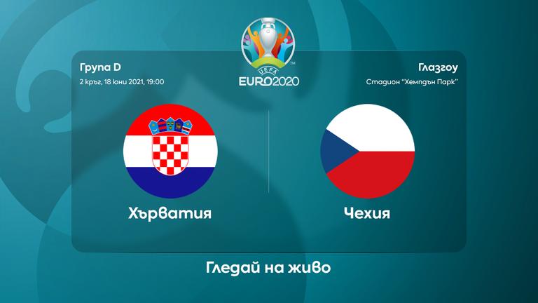 Съставите на Хърватия и Чехия