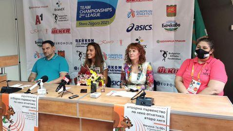 Ивет Лалова: Имах травма, но вече съм готова за повторен старт на сезона