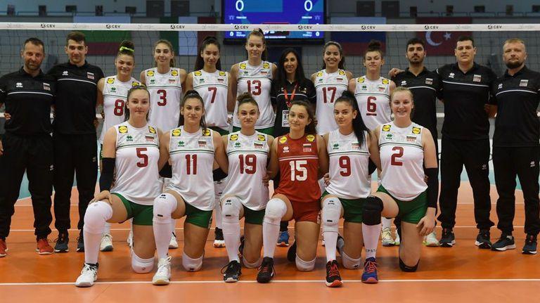България излиза срещу Турция в спор за бронзовите медали на Евроволей U16 🏐