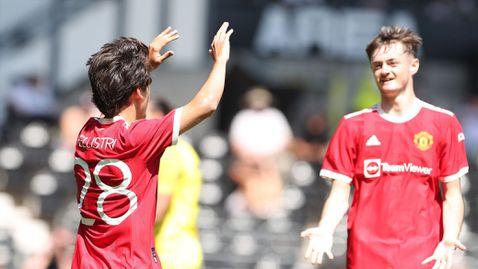 Манчестър Юнайтед започна с победа над Дарби на Рууни лятната подготовка