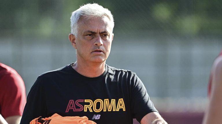 Моуриньо въведе нови елементи в тренировките на Рома (видео)